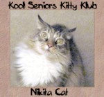 Nikita cat senior